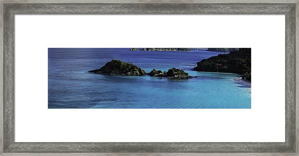 Trunk Bay Framed Print