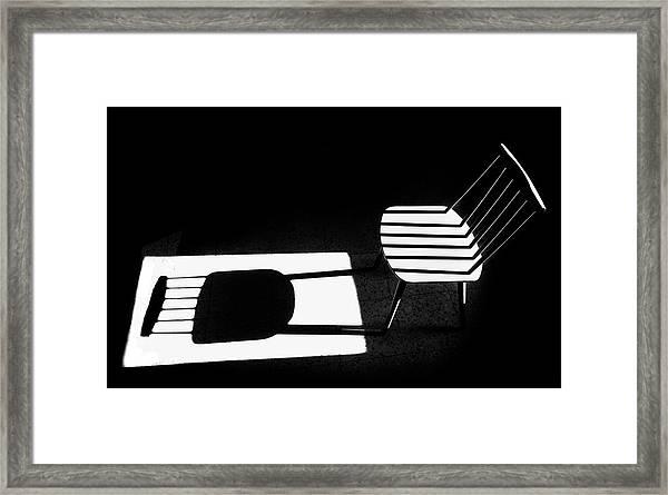 Truth & Fiction Framed Print