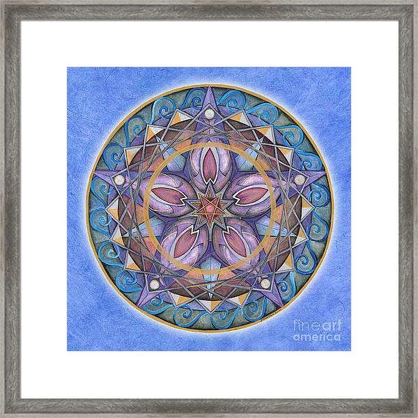 Truth Mandala Framed Print