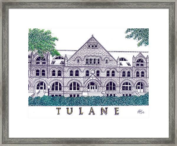 Tulane Framed Print by Frederic Kohli