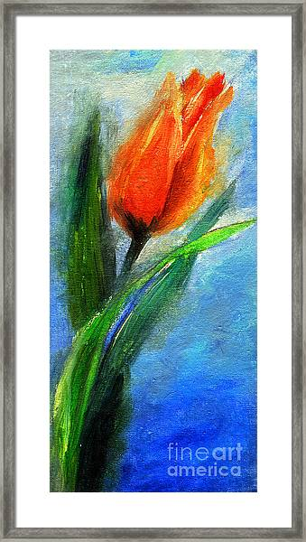 Tulip - Flower For You Framed Print