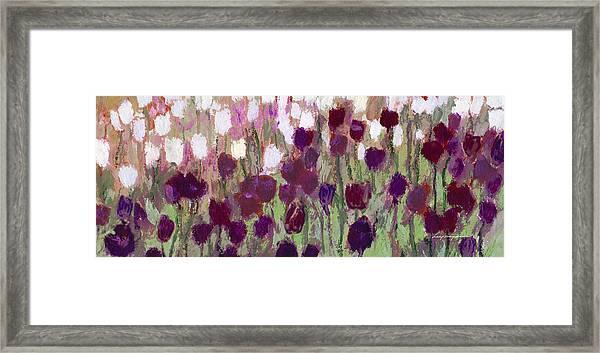 Tulip Riot Framed Print