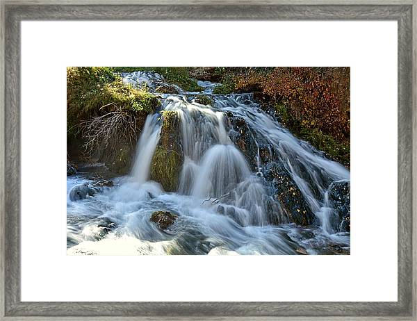 Tumbling Waters Framed Print