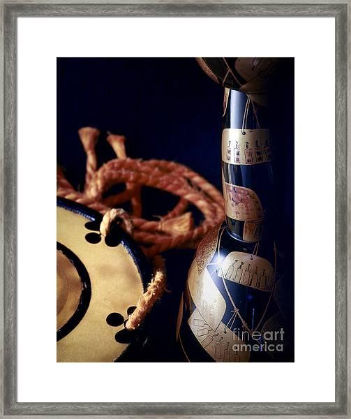 Tune Framed Print by Tad Kanazaki