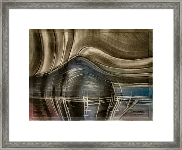 Tunnelscapeb 2010 Framed Print