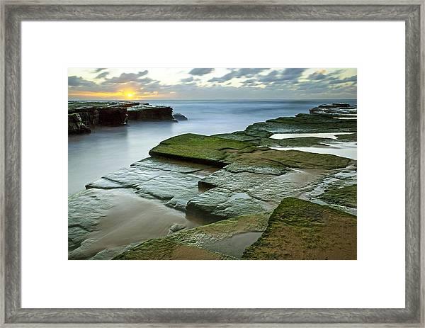 Turimetta Beach Sunrise Framed Print