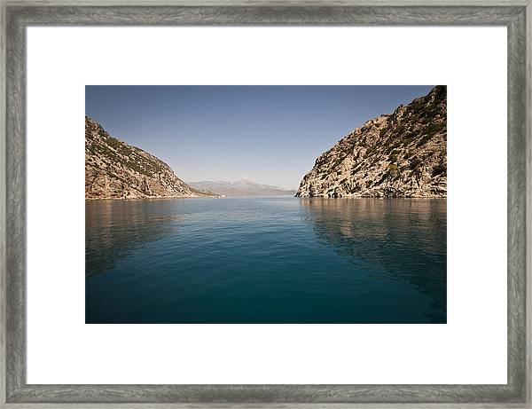 Turkish Bay Framed Print
