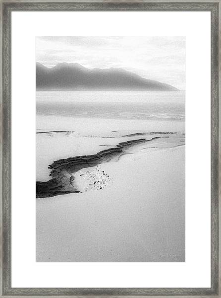 Turnagain Silk Framed Print