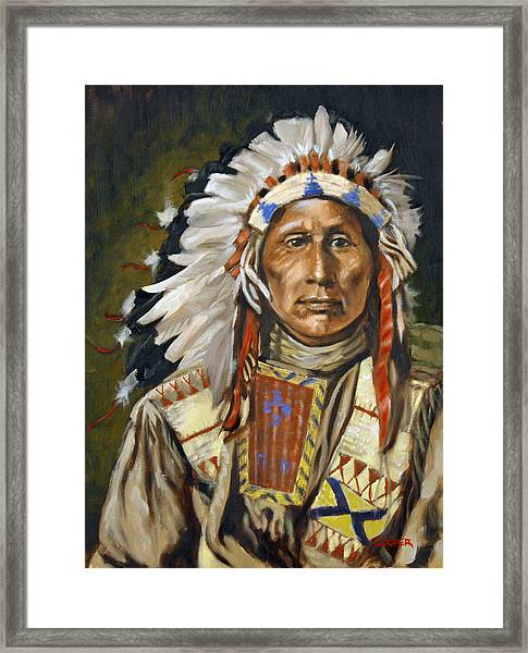 Turning Hawk  Framed Print