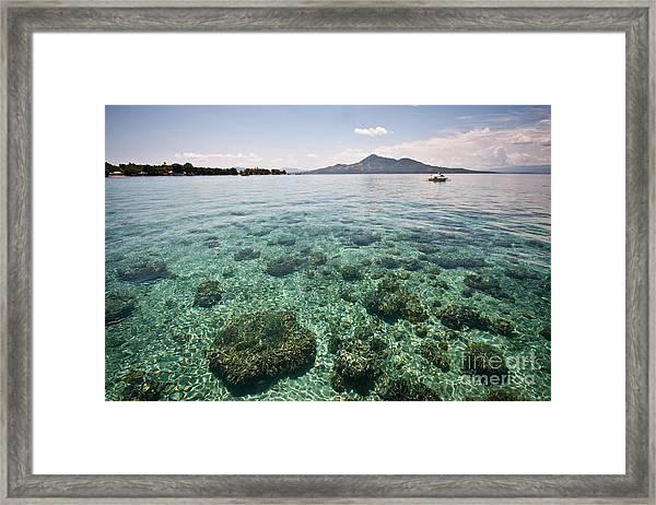 Turquoise Paradise Framed Print
