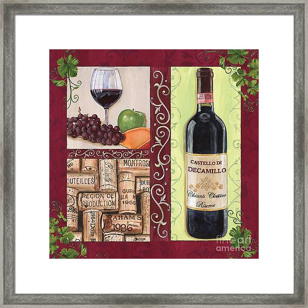 Tuscan Collage 2 Framed Print
