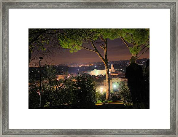 Tuscan View Framed Print