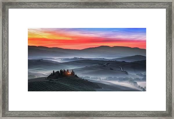 Tuscany Framed Print by Joaquin Guerola
