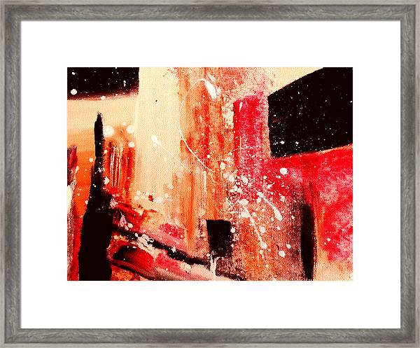 Tuscany Night Framed Print