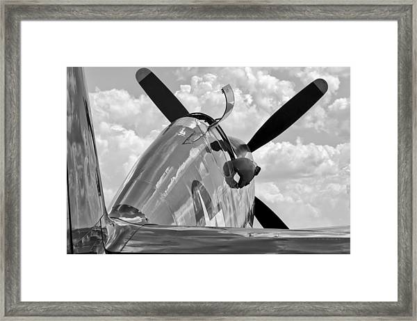 Tuskegee Red Tail Framed Print