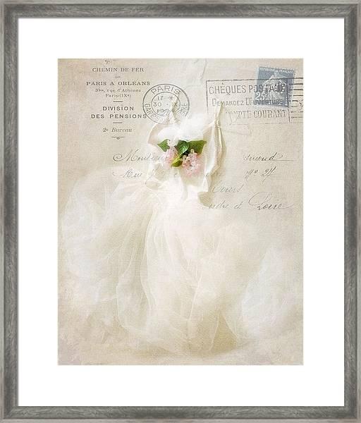Tutu  Framed Print