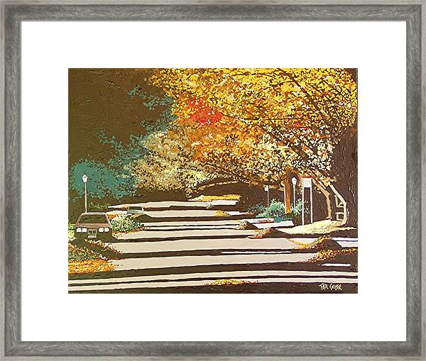 Twenty Second Street Framed Print by Paul Guyer