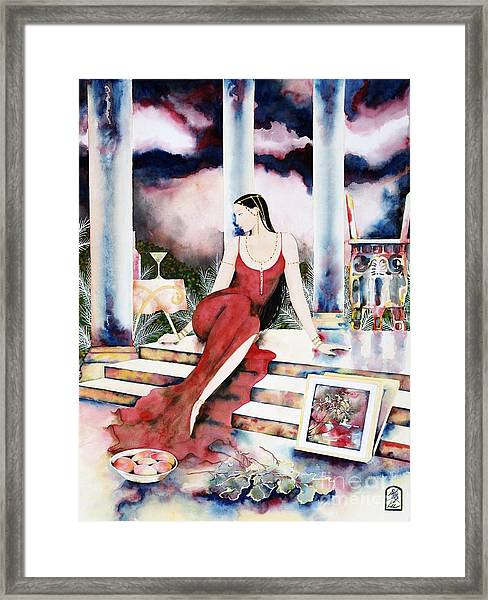 Twilight Surroundings Framed Print