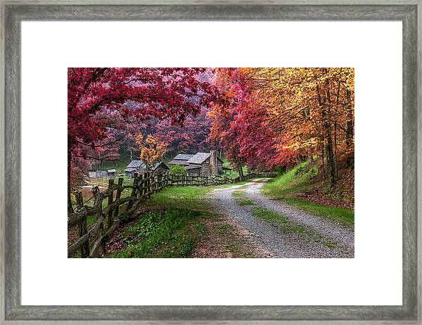 Twin Falls State Park Framed Print