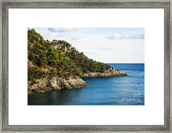 Twin Points Of Italy Framed Print