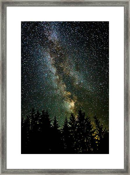 Twinkle Twinkle A Million Stars  Framed Print