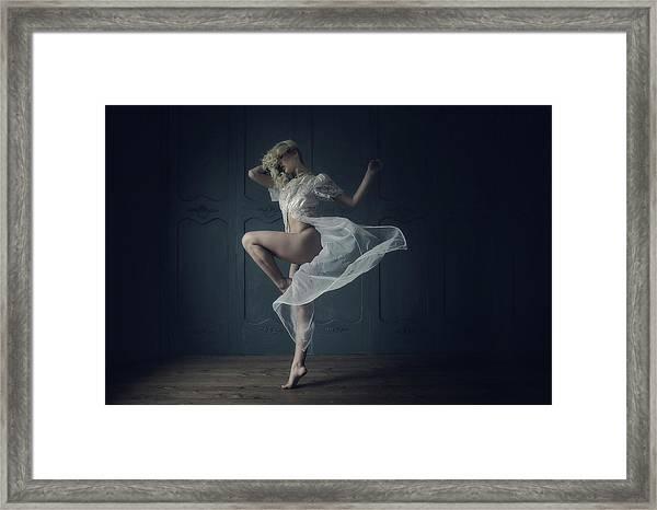 Twirl Framed Print