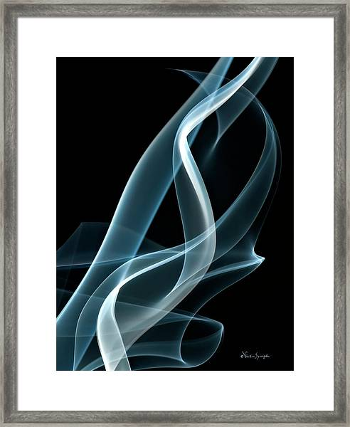 Twist And Turns 2 Framed Print