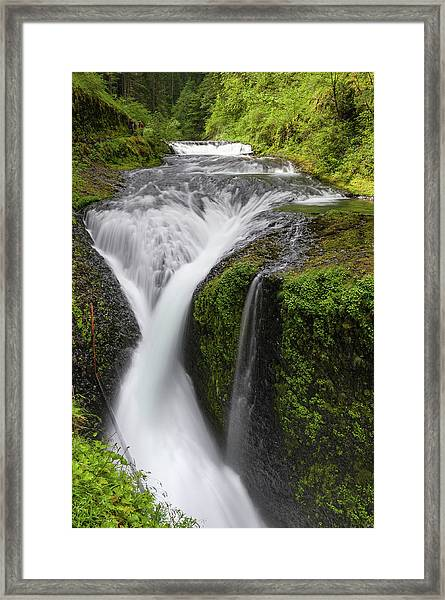 Twister Falls Pacific Crest Trail Eagle Framed Print