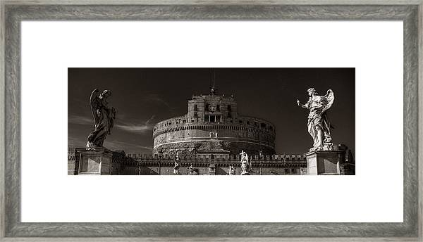 Two Angels Framed Print