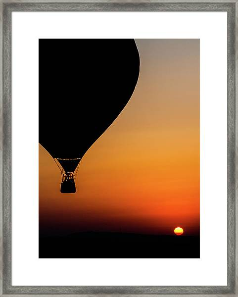 Two Balloons Framed Print