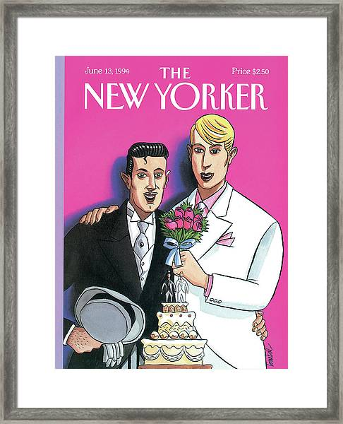 New Yorker June 13th, 1994 Framed Print