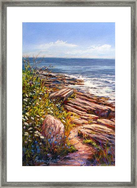 Two Lights State Park Framed Print