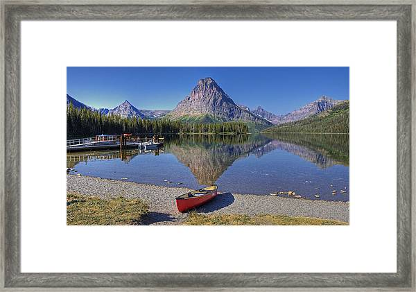 Two Medicine Framed Print