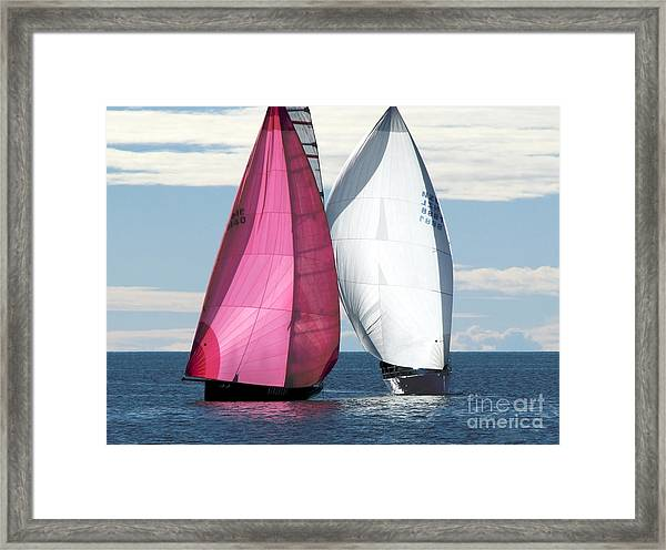 Two Of Us Framed Print