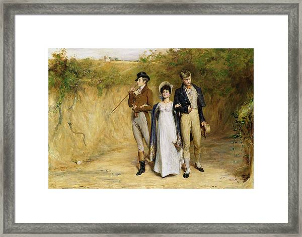 Two Strings To Her Bow Framed Print