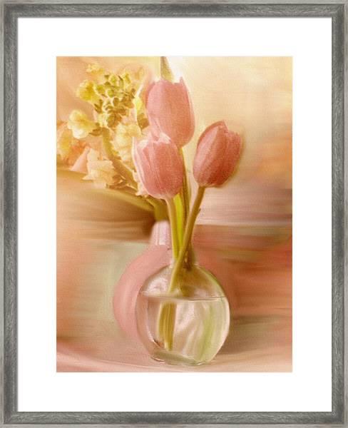 Two Vases Framed Print