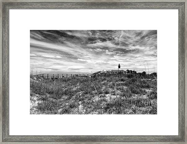 Tybee Island Light Station Framed Print