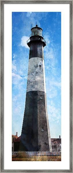 Tybee Island Light Framed Print