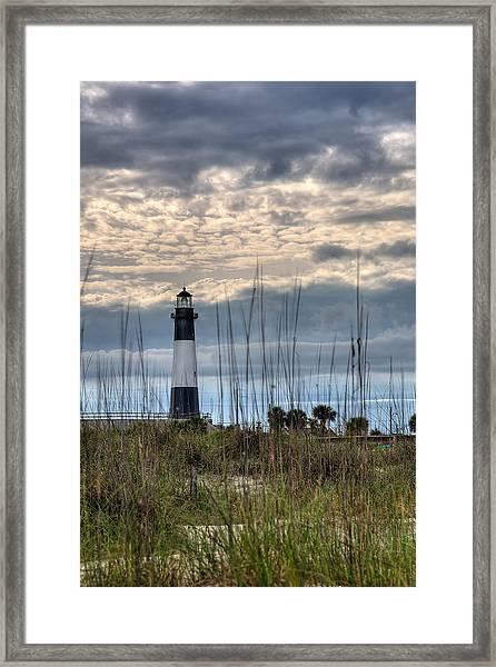 Tybee Light Framed Print