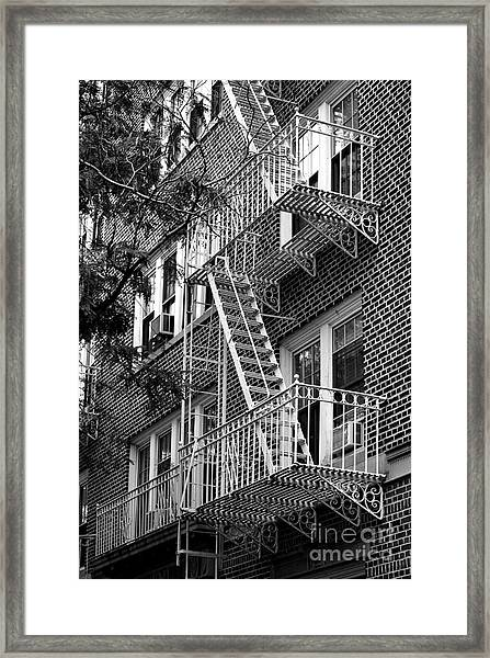 Typical Building Of Brooklyn Heights - Brooklyn - New York City Framed Print
