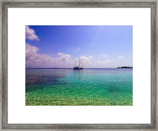 Typical Caribbean Framed Print