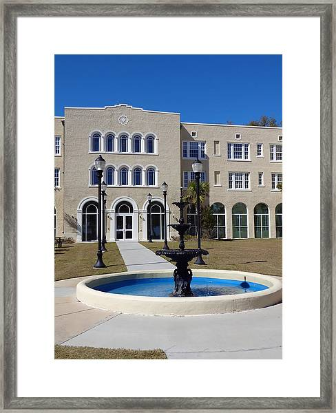 U S M Gulf Coast Hardy Hall Framed Print
