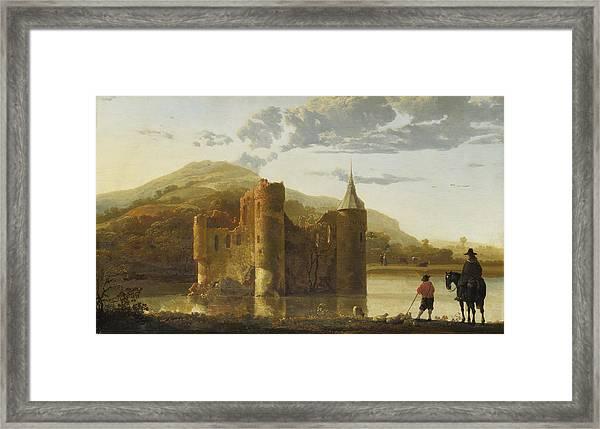 Ubbergen Castle Framed Print