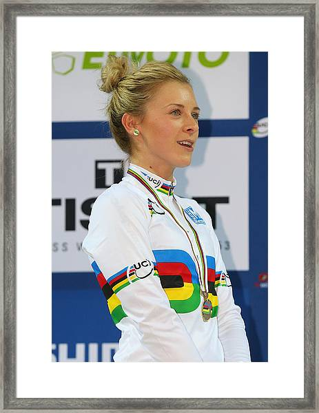 Uci Track Cycling World Championships - Day Five Framed Print by Alex Livesey