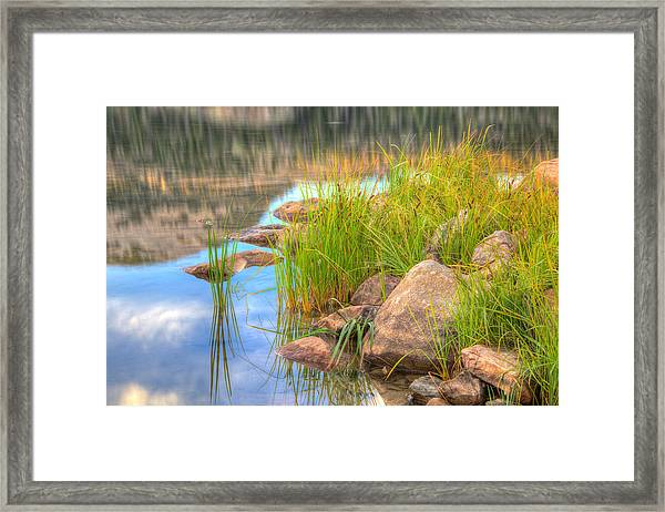 Uinta Reflections Framed Print