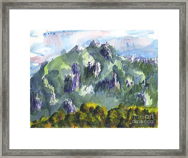 Uintah Highlands 1 Framed Print