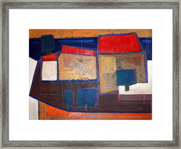 Ulje Na Platnu 70x100 Cm Framed Print by Saso  Petrosevski Novak - SPN