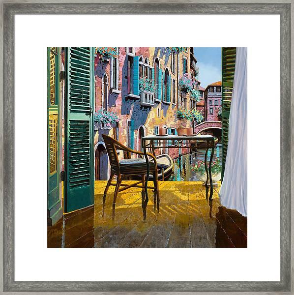 Un Soggiorno A Venezia Framed Print