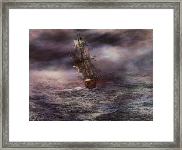 Uncharted Waters Framed Print