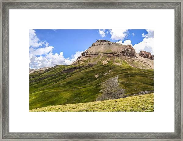 Uncompahgre Peak Framed Print